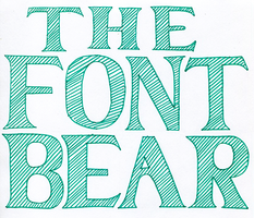 The Font Bear Project
