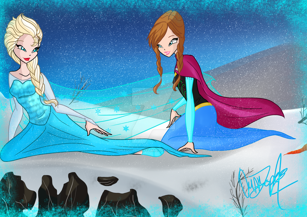 Winx: Do you want to build a snowman? by DragonShinyFlame on ...