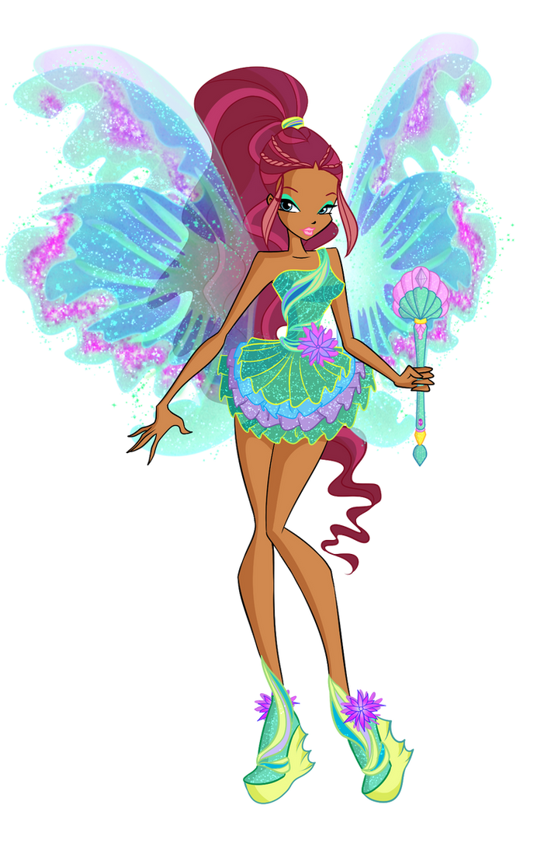 Winx: Aisha Mythix by DragonShinyFlame
