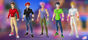 Winx: Beyong Darkness Boys by DragonShinyFlame