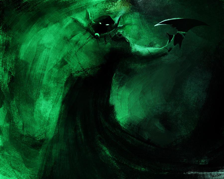 Necromancer - Lich form by Imrooniel on DeviantArt