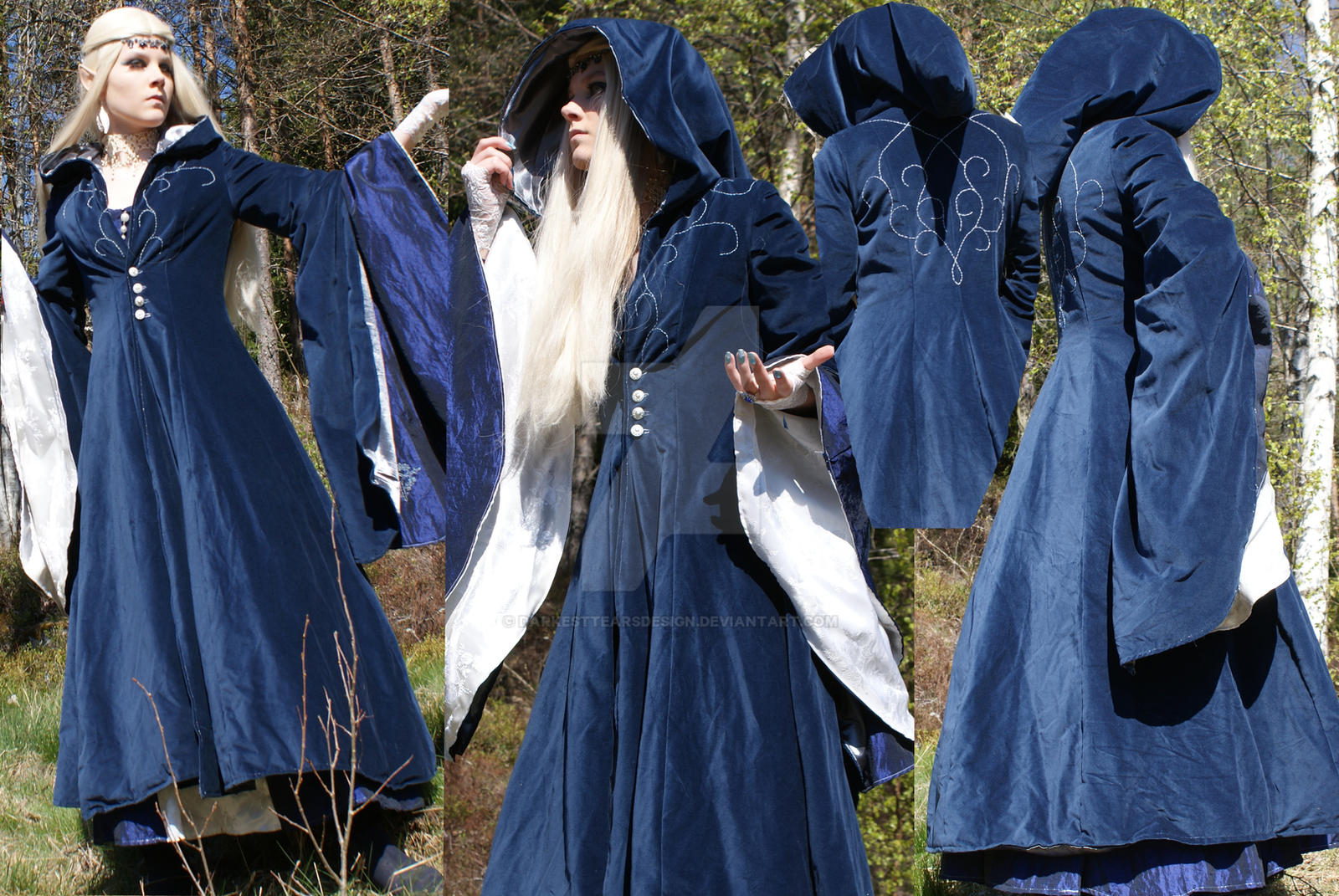 High Elf coat close up by Headclouds