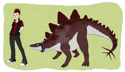 Walkin' my Stegosaurus