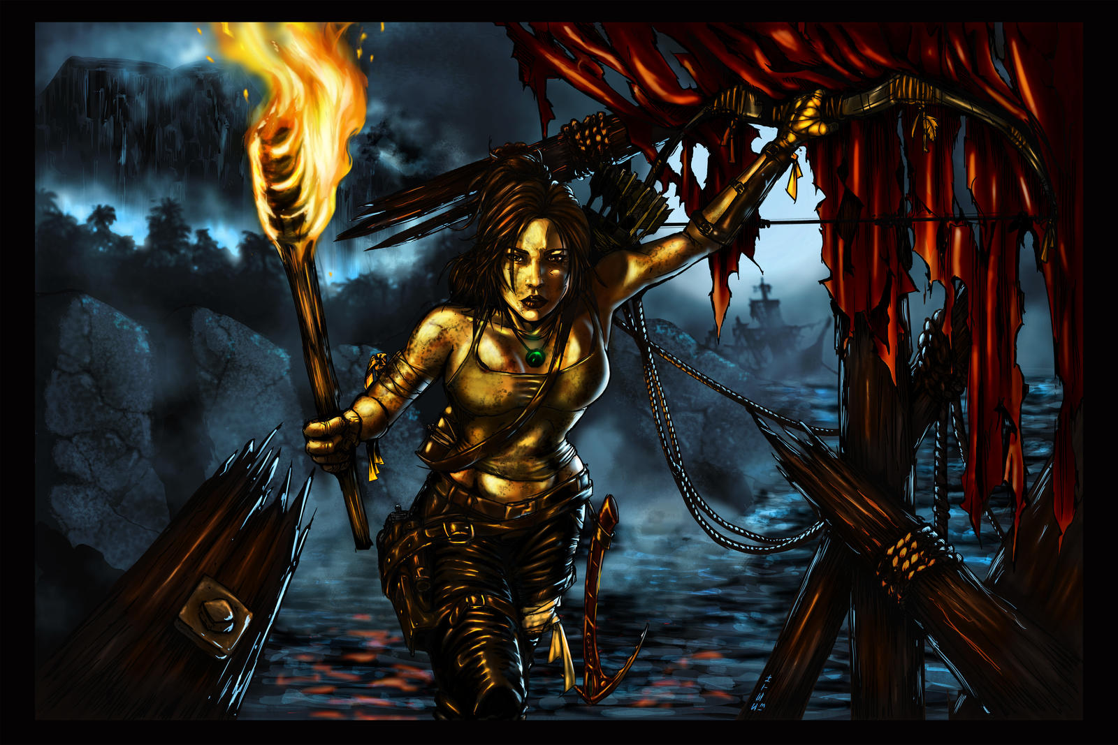 Tomb Raider Reborn final by SethBrandon