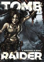 Tomb Raider Comic Poster