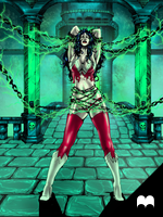Wonder Woman - Bound in the Kryptonite Keep by SethBrandon