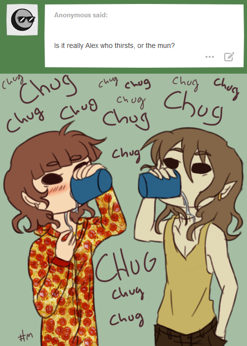 Alex and Mun - Who Thirsts? by EuchredEuthanasia