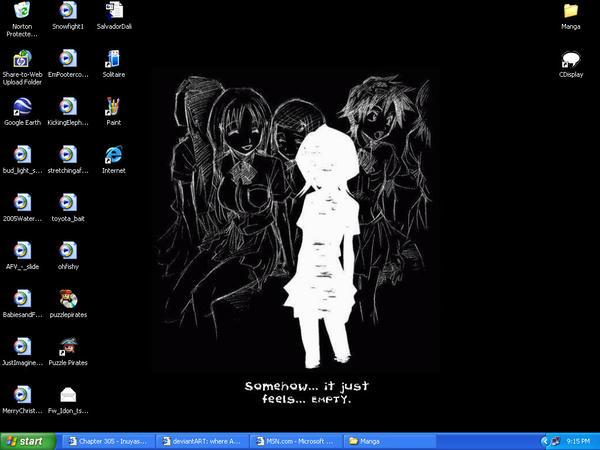 Bleach- It Just Feels Empty by aku-no-Kari