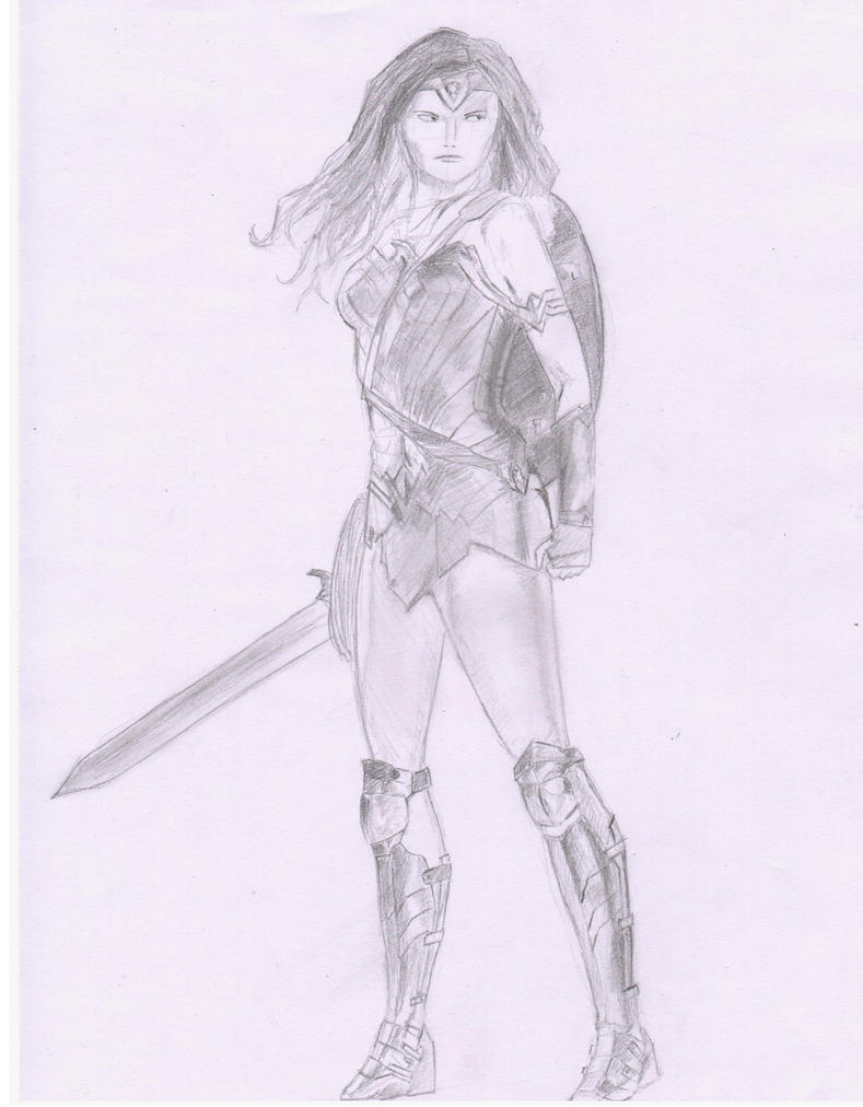 Gal Gadot Wonder Woman by MHT002