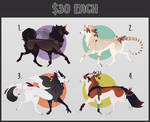 - Flat Price || Canine Adoptables`[CLOSED]