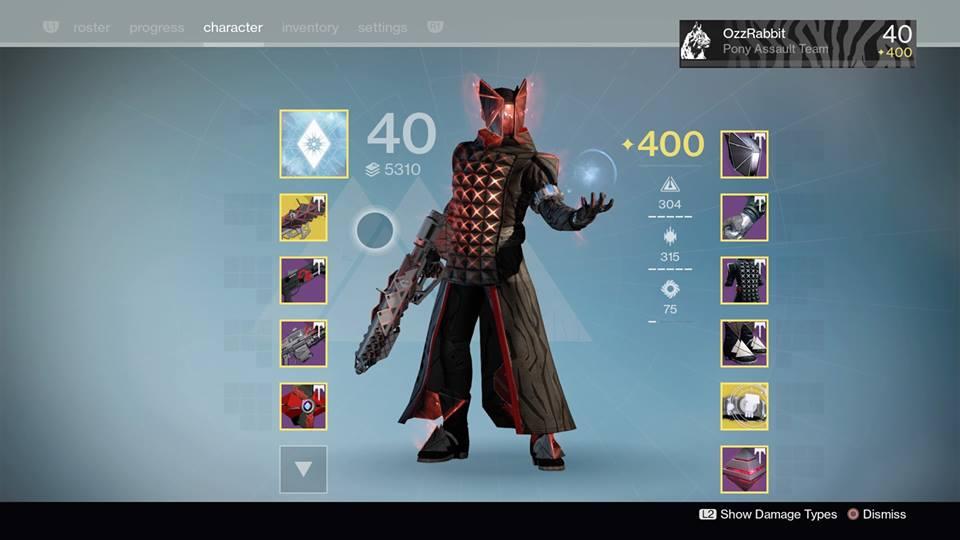 Destiny Warlock 2.0 by jackwolf1