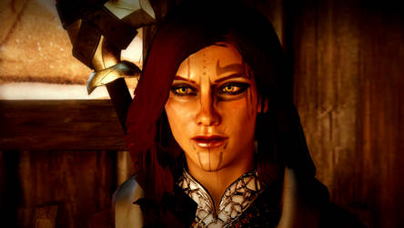 Inquisitor Lili Trevelyan - Screenshot by phoenixjklin