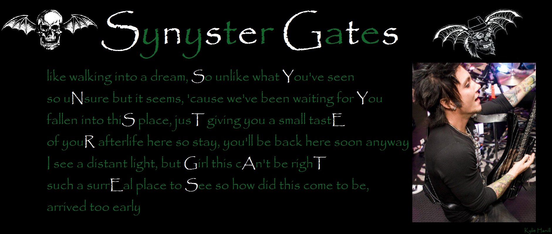 Pin Synyster-gates-quotes-image-search-results on Pinterest
