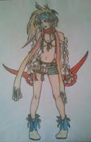 FFX-2 - Rikku by kngdmhrts2