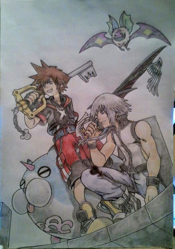 Kingdom Hearts: Dream Drop Distance by kngdmhrts2