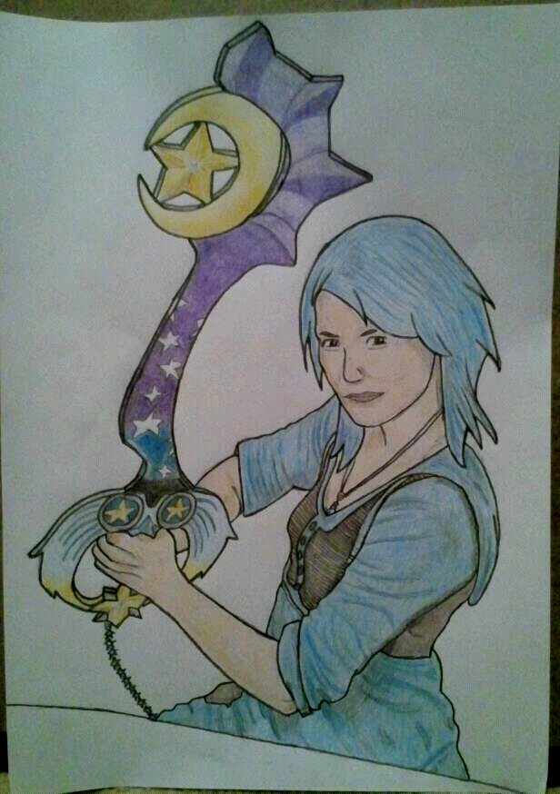 My Gift to DestinyBlue by kngdmhrts2