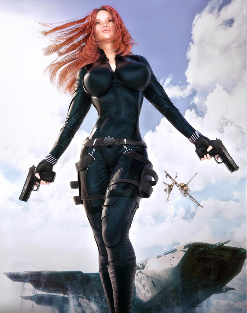 Black Widow by darvarq