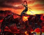 Dragon Rider by BesniaDarvar