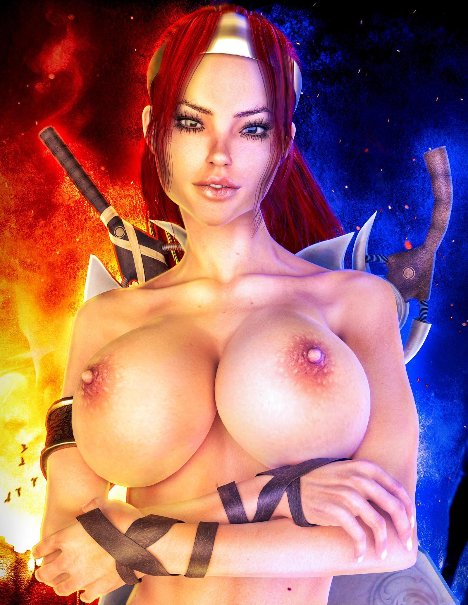 Consider, that Girl from heavenly sword naked