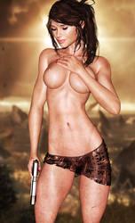 Lara Croft  by BesniaDarvar