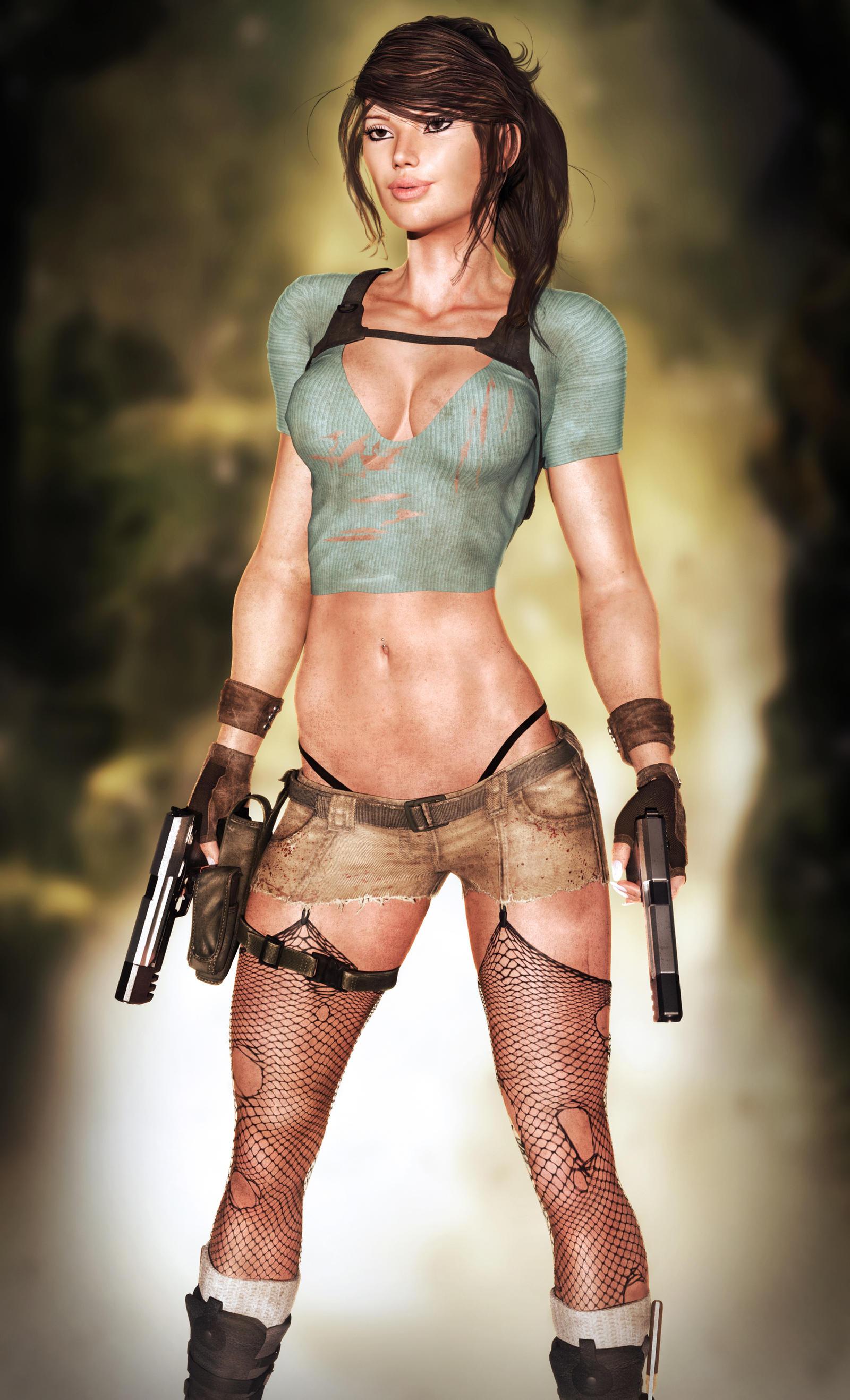 Lara Croft by darvarq on DeviantArt