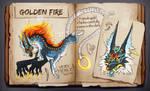 AUCTION OPEN - Golden Fire by Helga-BlueEyed