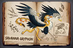 AUCTION CLOSED - Savanna Gryphon by Helga-BlueEyed