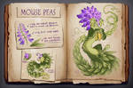 AUCTION CLOSED - Mouse Peas Dragon by Helga-BlueEyed