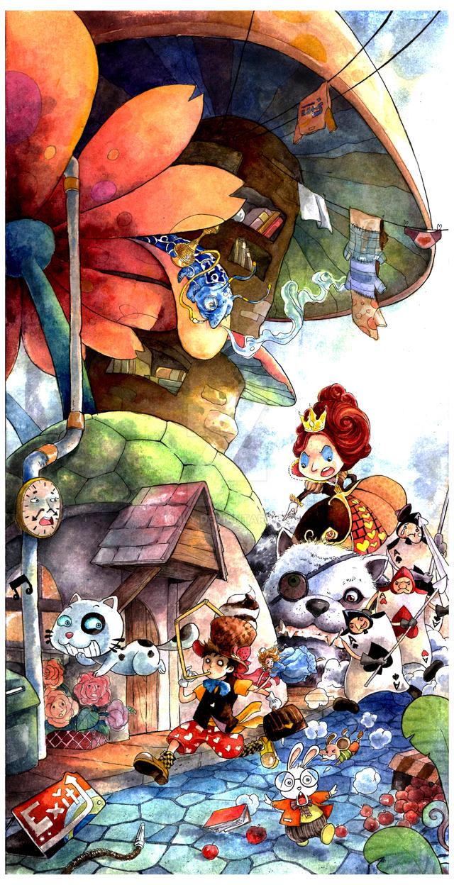 Steekun in Wonderland by kinly