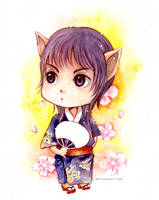 Jericho Chibi by kinly