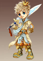 design character for game by kinly