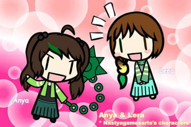 [Walfas]Anya and Lera