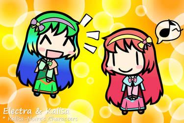 [Walfas]Electra and Kalisa(Re-design)