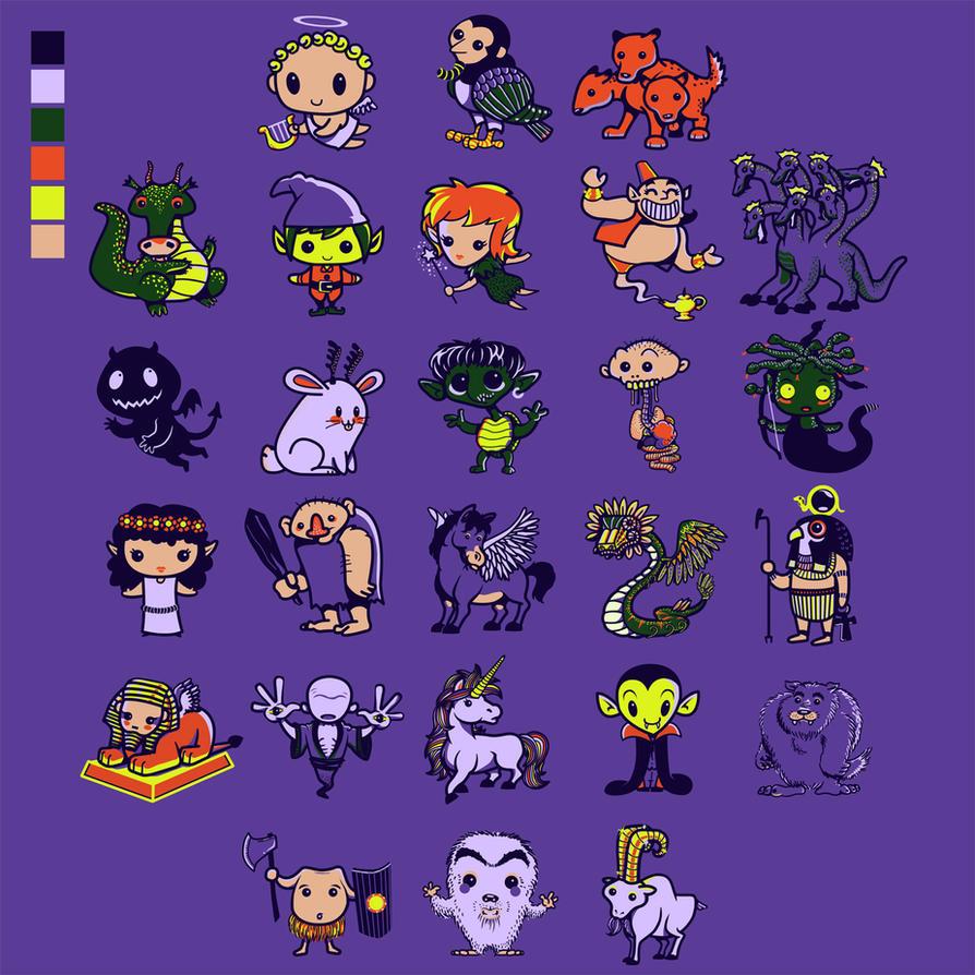 Cute Made Up Creature Drawings 30 Best Cute Monster Drawings Images