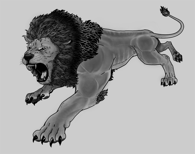 Lion - Tattoo Commission by credesign on DeviantArt