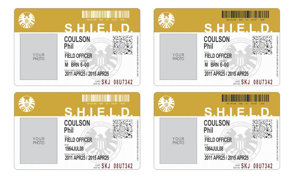 SHIELD ID card by credesign on DeviantArt