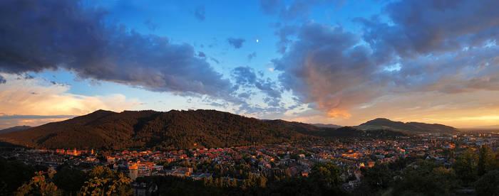 Evening in Freiburg