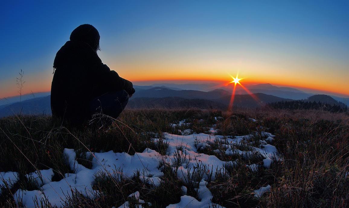 Sunset at Herzogenhorn by orestART