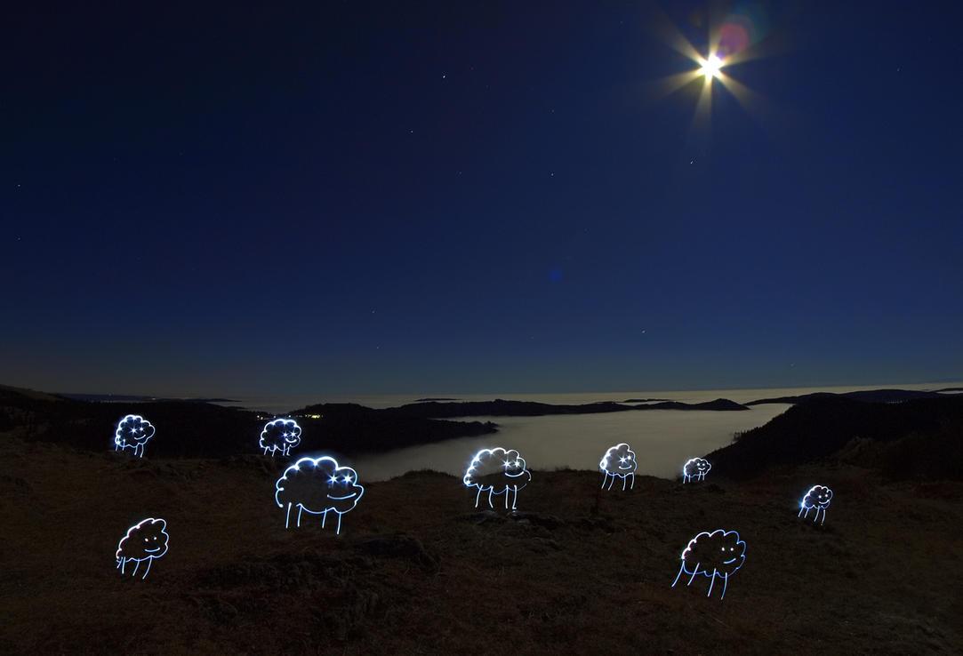 Midnight Sheeps by orestART
