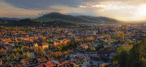 Evening in Freiburg II