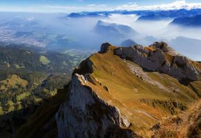 Esel mountain by orestART