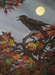 Crow Diptych Right Panel 1