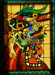 Mayan Stained glass