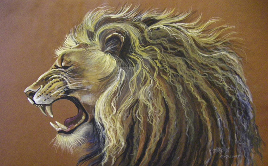 Roaring Lion No Wrinkles by HouseofChabrier on DeviantArt