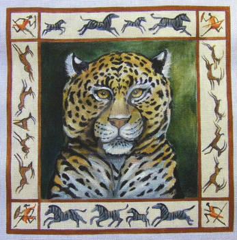Leopard Decorative Border