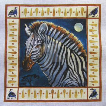 Serengeti Zebra Moon 2