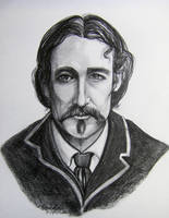 Robert Louis Stevenson by HouseofChabrier