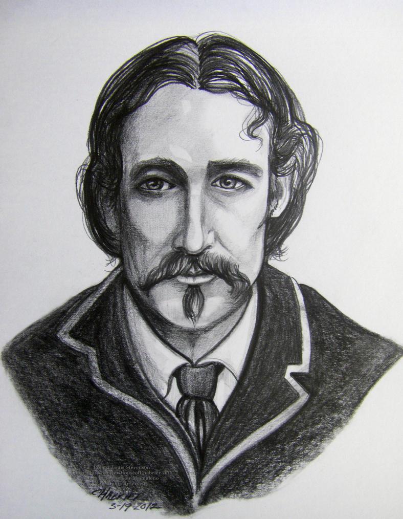 Line Art With Mr E : Robert louis stevenson by houseofchabrier on deviantart