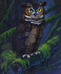 Night Owl by HouseofChabrier