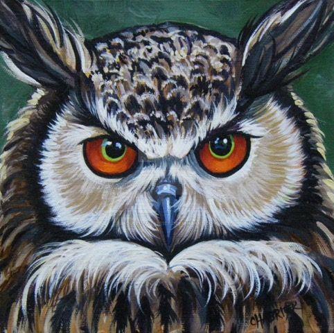 European Eagle Owl by HouseofChabrier